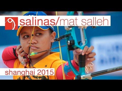 Salinas v Mat Salleh – Compound Women's Bronze Final | Shanghai 2015