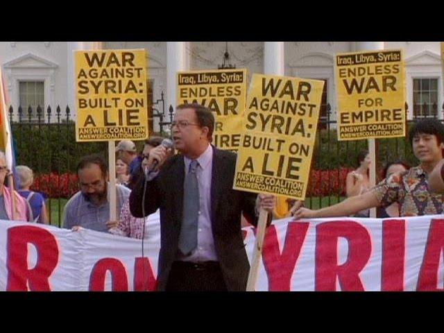 Syrie : les manifestations anti-guerre se multiplient