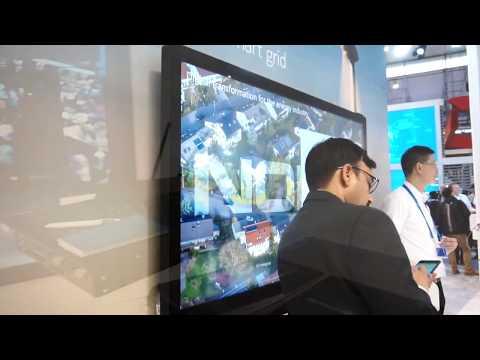 Παρουσίαση του booth της Nokia (MWC 2018)