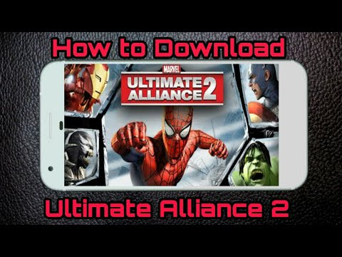 Download How To Download Marvel Ultimate Alliance 2 Game On Android