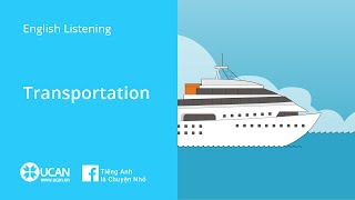 Learn English Listening | Beginner - Lesson 35. Transport