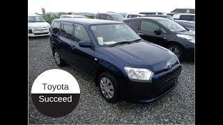 Toyota Succeed 2014г рестайлинг!