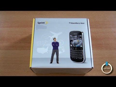 Sprint Blackberry Bold 9930 Unboxing - BWOne.com