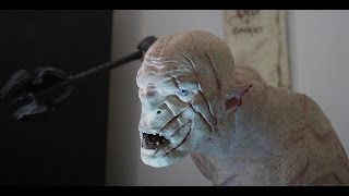 The Hobbit: Azog the Defiler on Warg vs Thorin by WETA (Full HD)