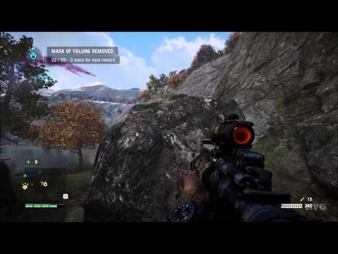 Far Cry 4 - Mask Of Yalung Location - #36 – Lakeside Sherpa Camp | X:524 Y:393 (PC HD) [1080p]