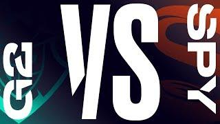 G2 vs. SPY - Week 5 Day 2 | LEC Summer Split| G2 Esports vs. Splyce (2019)