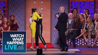 Kim Richards Squashes Her Beef with Lisa Rinna | WWHL