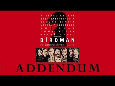 Birdman Opening Credits | Film Analysis Addendum
