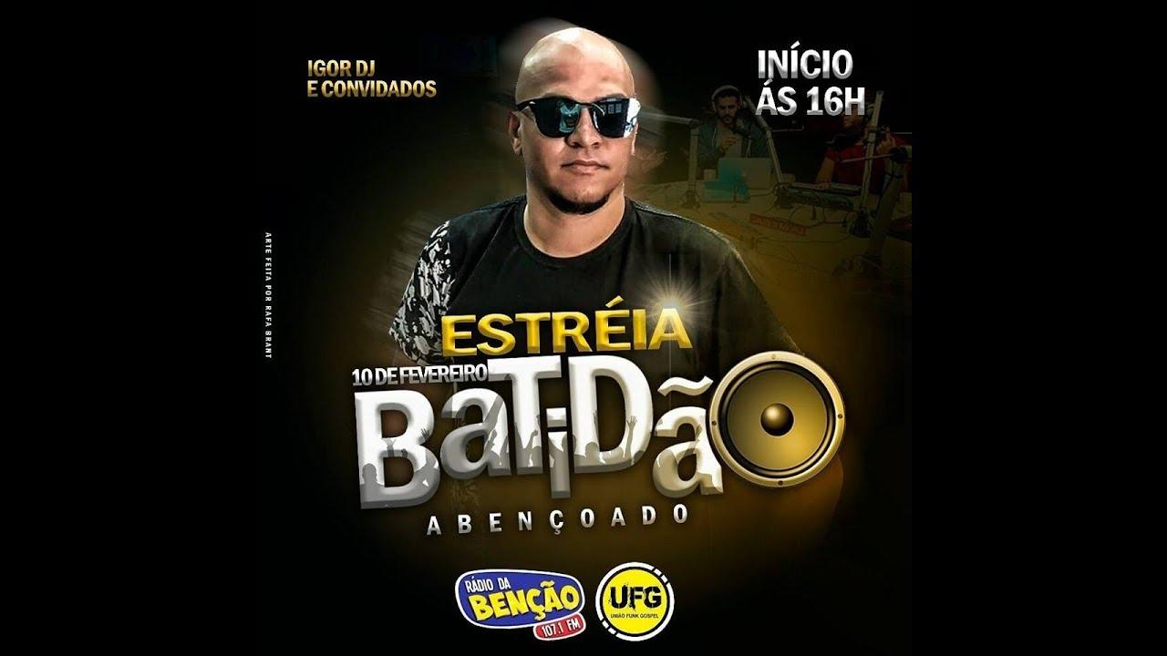 FUNK GOSPEL 2018 - ESTREIA DIA 10 FEVEREIRO  BATIDÃO ABENÇOADO NA RADIO 107,1 PARA TODO BRASIL.