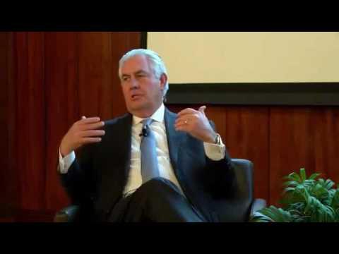 VIP Speaker Series: ExxonMobil's CEO Rex Tillerson
