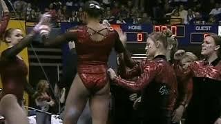 NCAA Women's Gymnastics:  2007 Georgia @ LSU