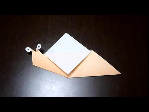 ハート 折り紙:折り紙 かたつむり 立体 折り方-youtube.com