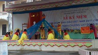 Múa Hào Khí Việt Nam Cực Đỉnh | 11A2 | Lễ Kỉ Niệm 20/11 Trường THPT C Kim Bảng | 2017