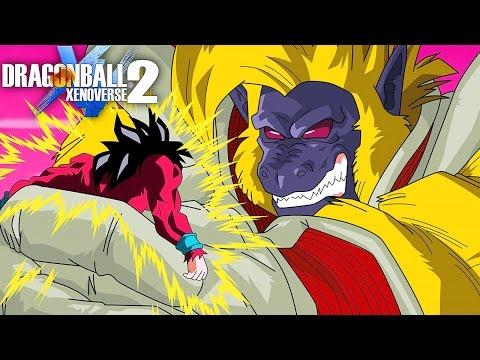 GREAT APE BABY RAID BOSS BATTLE! | Dragon Ball Xenoverse 2 - Livestream Part 3, Gameplay PS4