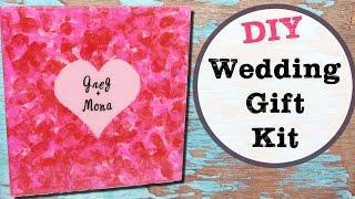 Wedding Canvas Gift Kit DIY