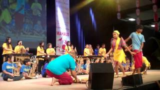"Banda Kawayan Hawaii ""Tinikling"" - Honolulu Festival 03-09-2014"