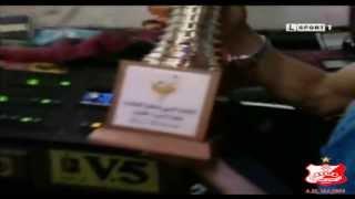 فرحة جماهير الأهلي ببطولة ليبيا لكرة الطائرة البطولة الـعاشرة للأهلي 2013 HD