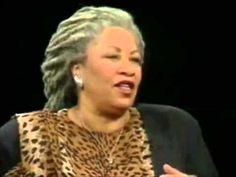 Toni Morrison speaks on her refusal to Privilege White People In Her Novels!