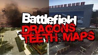 Erster Eindruck von allen Dragons Teeth Maps