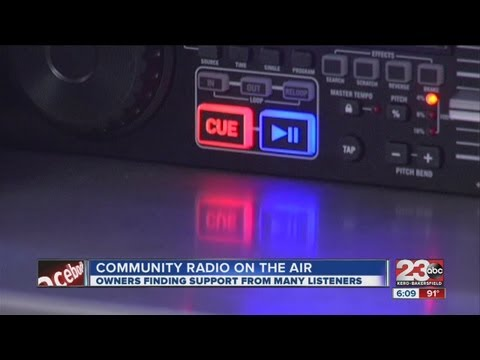 Owners Finding Support For Community Radio Station
