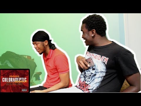 ROOMMATE REACTS TO Eminem - Chloraseptic (Remix) ft. 2 Chainz & Phresher
