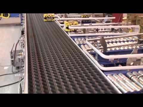 Multi-Conveyor Sorting Conveyors (Single lane to multiple lanes)