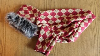 Одежда для собак, шьем сами. \ How to Make a Dog Coats, Sewing.(, 2014-09-10T09:51:29.000Z)