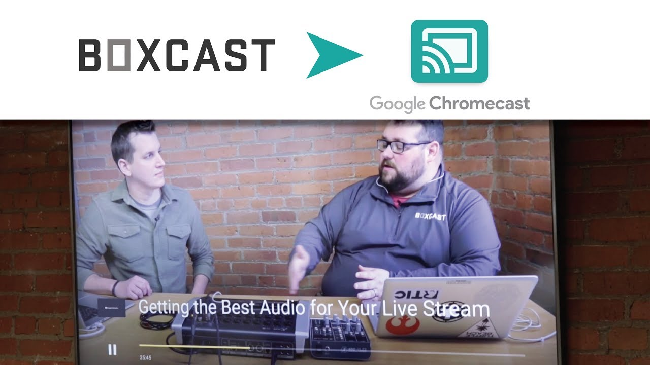 How to use Chromecast with the BoxCast Video Player – BoxCast