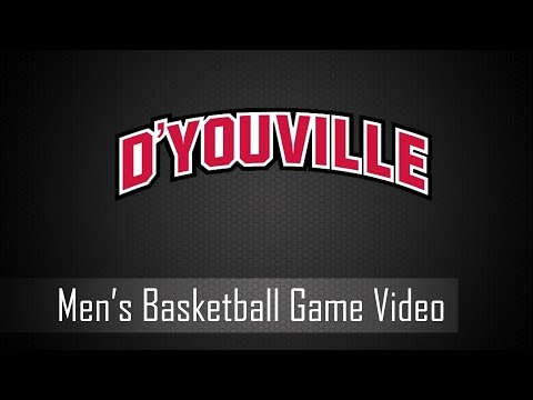 D'Youville Men's Basketball: SUNY Canton @ D'Youville - 11/27/16