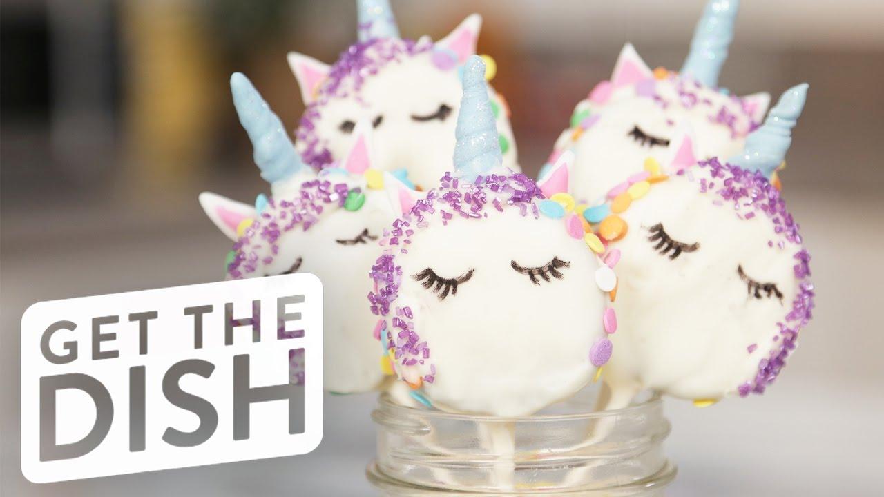 Unicorn Oreo Pops | Get the Dish - YouTube