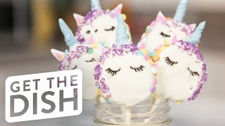 Unicorn Oreo Pops | Get the Dish