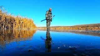 Первый лед 2018. Рыбалка на щуку, окуня и плотву!