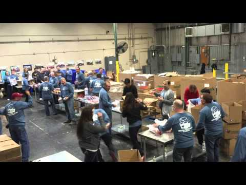 Inpro/Seal volunteering at River Bend Foodbank