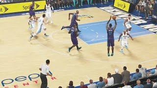 NBA 2K15 My Career Mode Ep.3 - CLUTCH 4TH QTR PERFORMANCE?