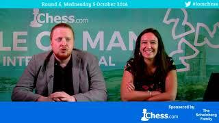 2016 Chess.com Isle of Man Tournament (Douglas) Round 5, Part 2