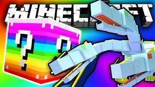 Minecraft: RAINBOW Lucky Block QUEEN CHAOS Challenge!