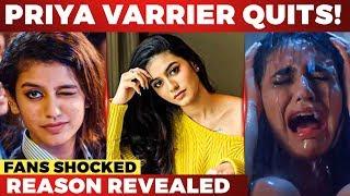 Wink Girl: Priya Prakash Varrier's Big Decision!