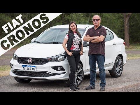 Fiat Cronos 2019 em Detalhes com Giu Brandão e Emílio Camanzi