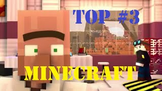 DanTDM Top 3 Minecraft Animation The Diamond Minecart DanTDM