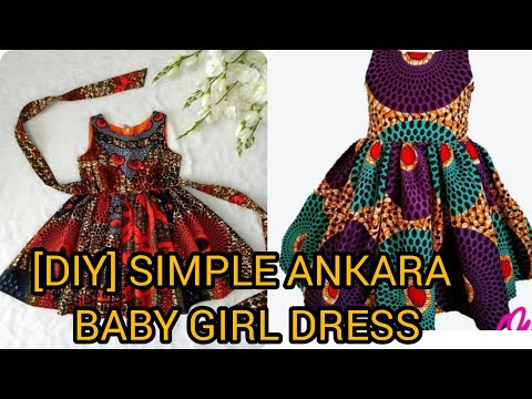 Download How To Make A Simple Ankara BABY DRESS