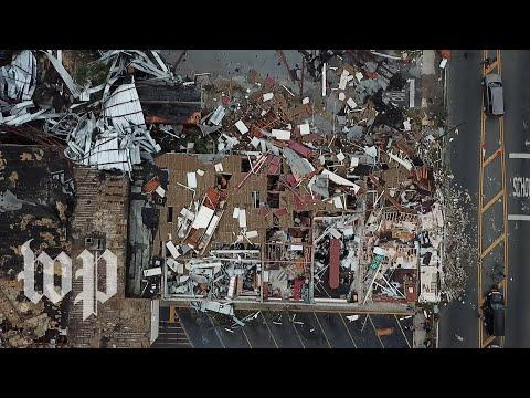 Im just glad to be alive: Hurricane Michael tears through coastal city