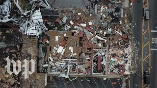 'I'm just glad to be alive': Hurricane Michael tears through coastal city