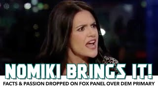 Nomiki Konst Brings Facts & Passion To Fox Discussion On Dem Primary