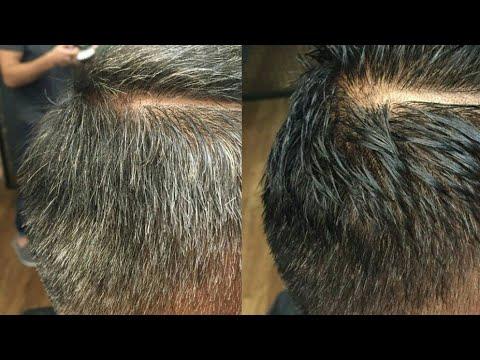Окарган сочни бу никоб корайтиради жуда фойдали,маска для седых волос в домашних условиях