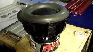 MTX RFL Motor custom 12'' car audio Subwoofer !  nice design