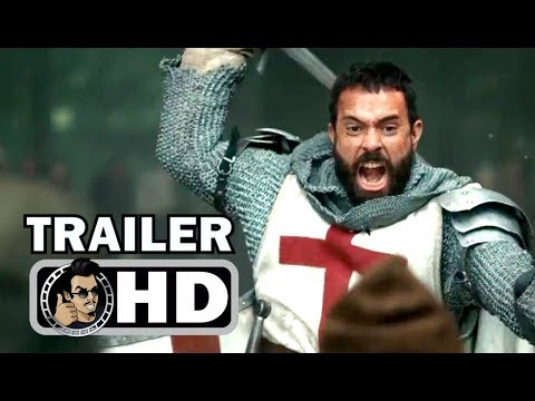KNIGHTFALL Official Trailer (2017) History Channel Series HD