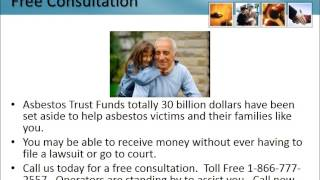 Mesothelioma Lawyer Brent Florida 1-866-777-2557 Asbestos Lung Cancer Lawsuit FL