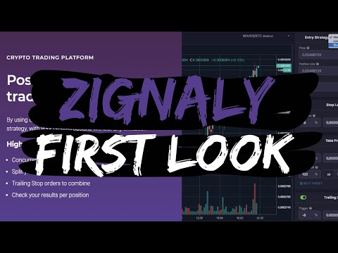 Zignaly Trading Bot : First Look