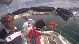 barca a vela costa azzurra 4 maggio 2015
