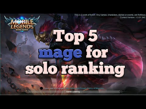 Top 5 mage to rank Up | Top mage must use in solo ranking | Mobile Legends